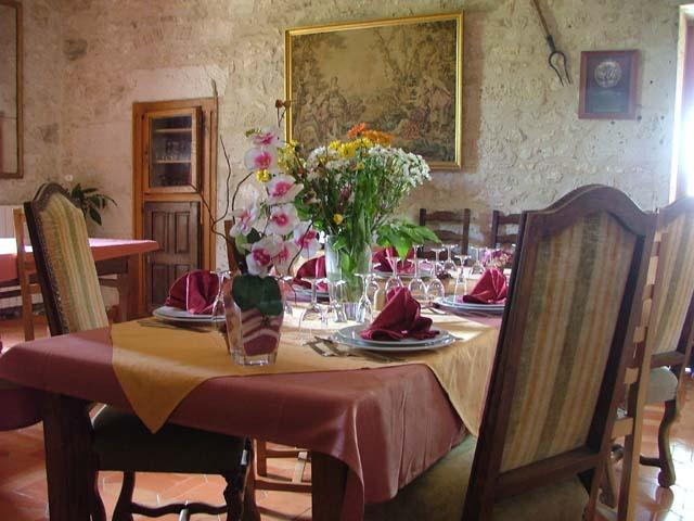 Restaurant la Famille Moutier  a Monestier en Dordogne