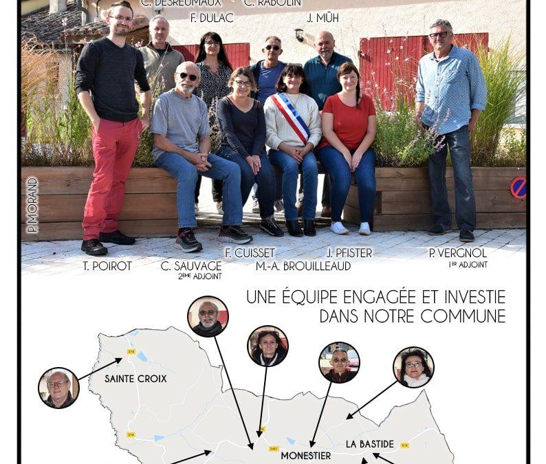 Flyer Conseil Municipal Monestier Juin 2020