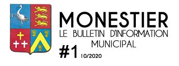 #1 – Le bulletin municipal de Monestier – Première édition numérique
